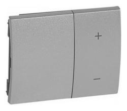 Лицевая панель Galea Life для кнопочного светорегулятора (алюминий) 771386
