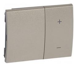 Лицевая панель Galea Life для кнопочного светорегулятора (титан) 771486