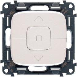 Кнопка-выключатель для рольставней Valena Allure (жемчуг) 752030+755149