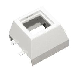 Рамка Mosaic 2 модуля для мини-плинтусов DLPlus 75х20  030378