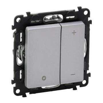 Светорегулятор 400 Вт Valena Life (алюминий) 752062+754892