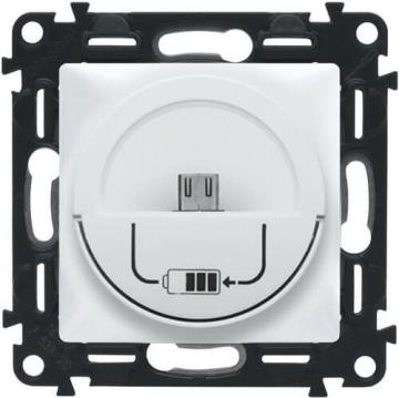 Зарядная станция MicroUSB 240В/5В 1500мА Valena Life (белый) 753011