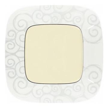 Артикул: 754341, Рамка одноместная Valena Allure (Нарцисс хром)