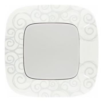 Рамка одноместная Valena Allure (Нарцисс хром) 754341