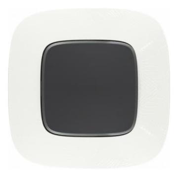 Рамка одноместная Valena Allure (Тиснение белое) 754371