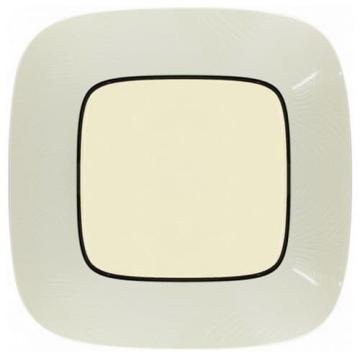 Рамка одноместная Valena Allure (Тиснение бежевое) 754381