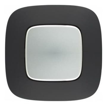 Рамка одноместная Valena Allure (Матовый черный) 754401