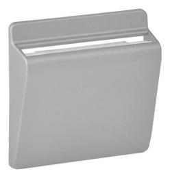 Лицевая панель Legrand Valena Life для выключателя с ключ-картой (алюминий) 755162