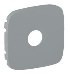 Лицевая панель Legrand Valena Allure для TV розетки (алюминий) 754767
