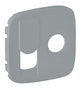 Лицевая панель Legrand Valena Allure для розетки RJ45 и TV (алюминий) 754837
