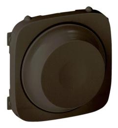 Лицевая панель Legrand Valena Allure для светорегулятора 300Вт (антрацит)