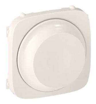Лицевая панель Legrand Valena Allure для светорегулятора 300Вт (жемчуг) 752049