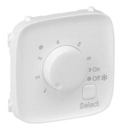 Лицевая панель Legrand Valena Allure для термостата (белая)