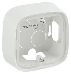 Коробка одноместная для накладного монтажа Valena Allure (белая)