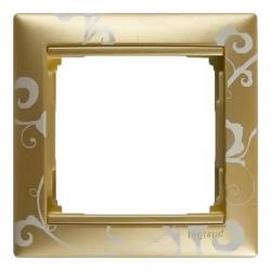 Рамка Valena одноместная (Золотая барокко)