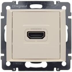 Розетка HDMI Valena (слоновая кость)
