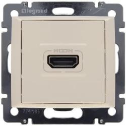 Розетка HDMI Valena (слоновая кость) 774185