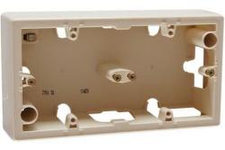 Коробка для наружного монтажа Valena 2-я (слоновая кость) 776132