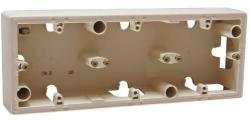 Коробка для наружного монтажа Valena 3-я (слоновая кость)