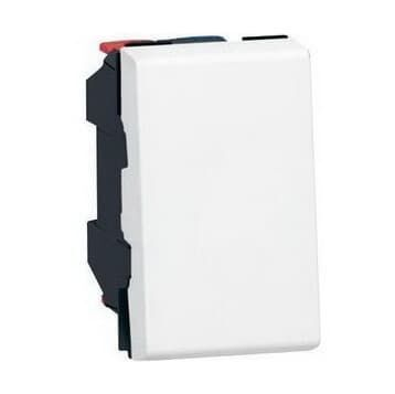 Механизм выключателя Mosaic 1 модуль (белый)  077000