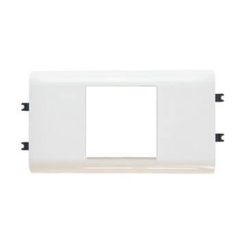 Артикул: 010952, Суппорт Mosaic на 2 модуля для короба DLP, с крышкой 65 мм.
