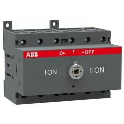 Рубильник реверсивный ABB OT125F3С 125А 3х полюсный без ручки 1SCA105037R1001