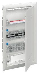 Шкаф ABB UK636MW с дверью с радиопрозрачной вставкой (3 ряда) 2CPX031387R9999