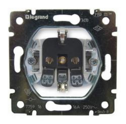 Механизм электрической розетки Galea Life с заземлением на безвинтовых зажимах 775920
