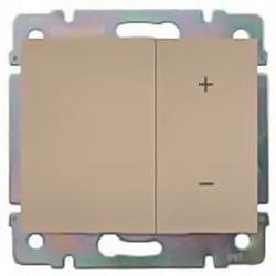 Cветорегулятор кнопочный Galea Life 40-400Вт (титан)