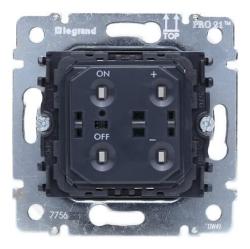 Механизм светорегулятора Galea Life 400 Вт кнопочный 775652