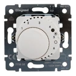 Механизм терморегулятора Galea Life с датчиком для теплого пола (белая) 775858