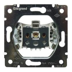 Механизм электрической розетки без заземления Galea Life 775916