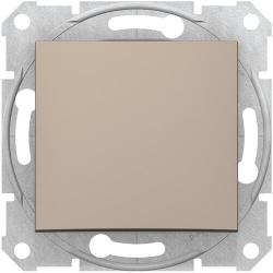 Кнопочный выключатель Sedna (титан) SDN0700168