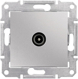 Розетка телевизионная Sedna оконечная (алюминий) SDN3201660