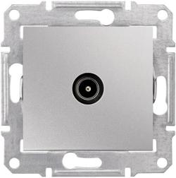 Розетка телевизионная Sedna проходная 8 dB (алюминий) SDN3201260