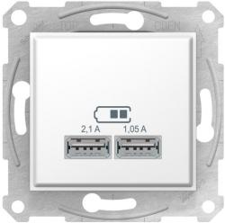 Розетка USB Sedna (белый) SDN2710221