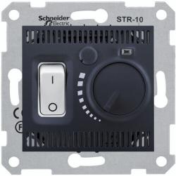 Терморегулятор для теплого пола Sedna (графит) SDN6000370