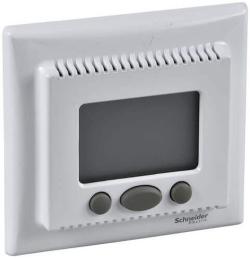 Терморегулятор для теплого пола Sedna с функцией «комфорт» с рамкой (белый) SDN6000221