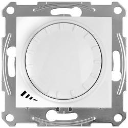 Светорегулятор LED проходной нажимной 4-400 Вт Sedna (белый) SDN2201221