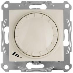 Светорегулятор ԼED проходной нажимной 4-400 Вт Sedna (бежевый) SDN2201247