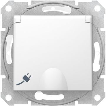 Розетка влагозащищенная Sedna (белый) SDN3100321