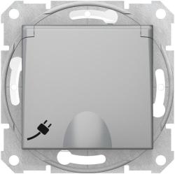 Розетка влагозащищенная Sedna (алюминий) SDN3100360