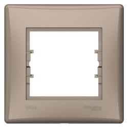 Рамка одноместная влагозащищенная Sedna (титан) SDN5810568