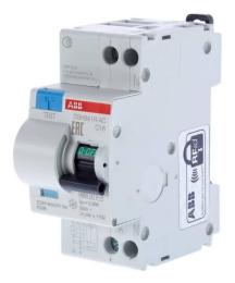Дифференциальный автомат ABB DSH941R 16А 30mA  2CSR145001R1164