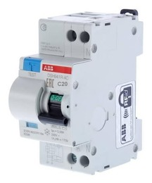 Дифференциальный автомат ABB DSH941R 20А 30mA 2CSR145001R1204