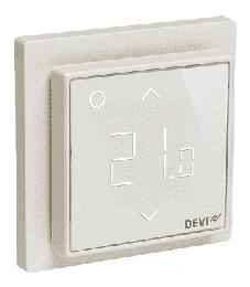 Терморегулятор DEVIreg Smart интеллектуальный с WI-FI, 16A (белый) 140F1141