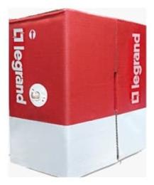 Кабель витая пара (UTP), 4x2x AWG24, категория 5е PVC  без экрана (Legrand) 032751