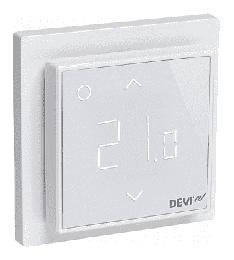 Терморегулятор DEVIreg Smart интеллектуальный с WI-FI, 16A (полярно-белый) 140F1140