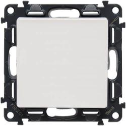 Кнопочный выключатель Valena Life (белый) 752011+755000
