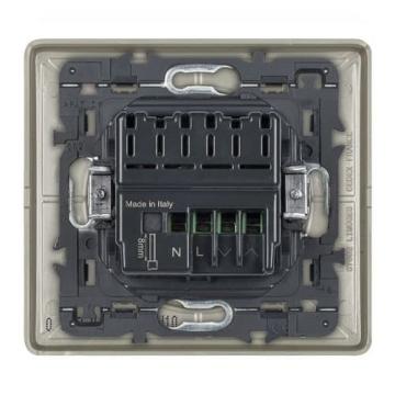 Умный проводной выключатель рольставней Celiane Netatmo (титан) 067776